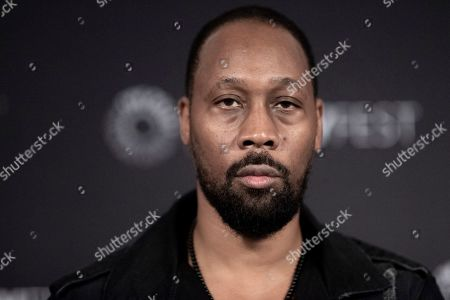 "RZA attends Hulu's ""Wu-Tang: An American Saga"" screening and panel during the 2019 PaleyFest Fall TV Previews at The Paley Center for Media, in Beverly Hills, Calif"