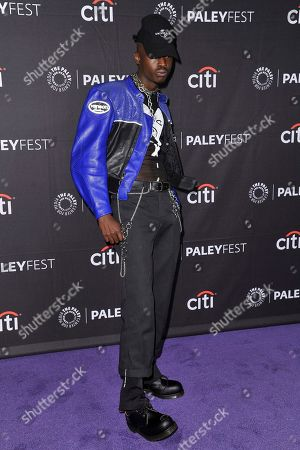 "Ashton Sanders attends Hulu's ""Wu-Tang: An American Saga"" screening and panel during the 2019 PaleyFest Fall TV Previews at The Paley Center for Media, in Beverly Hills, Calif"