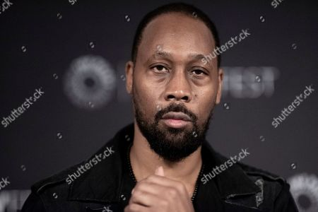 "RZA, Robert Fitzgerald Diggs. RZA attends Hulu's ""Wu-Tang: An American Saga"" screening and panel during the 2019 PaleyFest Fall TV Previews at The Paley Center for Media, in Beverly Hills, Calif"