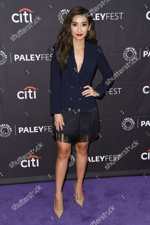 "Brenda Song attends Hulu's ""Dollface"" screening and panel during the 2019 PaleyFest Fall TV Previews at The Paley Center for Media, in Beverly Hills, Calif"