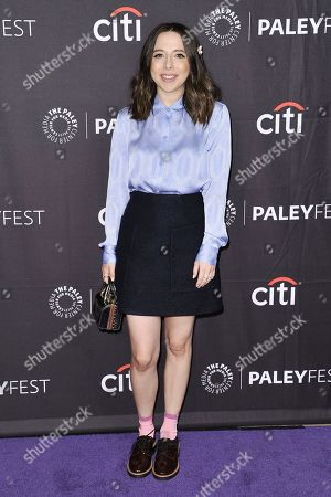 "Esther Povitsky attends Hulu's ""Dollface"" screening and panel during the 2019 PaleyFest Fall TV Previews at The Paley Center for Media, in Beverly Hills, Calif"