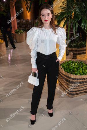 Kaitlyn Dever attends the Oscar de la Renta runway show during NYFW Spring/Summer 2020, in New York