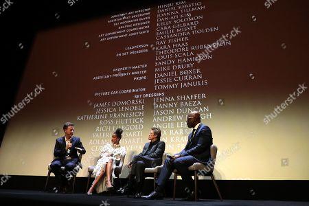 Editorial image of Warner Bros. presents 'Mortherless Brooklyn' Premiere at the Toronto International Film Festival, Toronto, Canada - 10 Sep 2019