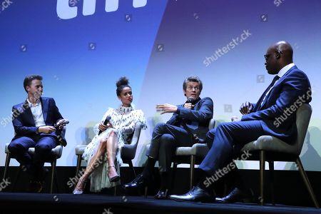 Editorial photo of Warner Bros. presents 'Mortherless Brooklyn' Premiere at the Toronto International Film Festival, Toronto, Canada - 10 Sep 2019