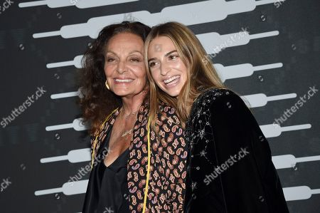 Diane von Furstenberg, Talita von Furstenberg. Designer Diane von Furstenberg, left, and Talita von Furstenberg attend the Spring/Summer 2020 Savage X Fenty show, presented by Amazon Prime, at the Barclays Center on Tuesday, Sept, 10, 2019, in New York