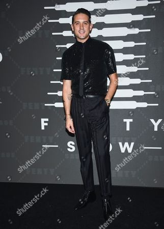 G-Eazy, Gerald Earl Gillum. Rapper G-Eazy attends the Spring/Summer 2020 Savage X Fenty show, presented by Amazon Prime, at the Barclays Center on Tuesday, Sept, 10, 2019, in New York