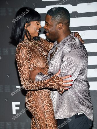 A$AP Ferg, Renell Medrano. Rapper A$AP Ferg, right, and girlfriend Renell Medrano attend the Spring/Summer 2020 Savage X Fenty show, presented by Amazon Prime, at the Barclays Center on Tuesday, Sept, 10, 2019, in New York
