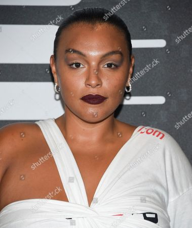 Paloma Elsesser attends the Spring/Summer 2020 Savage X Fenty show, presented by Amazon Prime, at the Barclays Center on Tuesday, Sept, 10, 2019, in New York