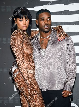 Renell Medrano, ASAP Ferg. Rapper ASAP Ferg, right, and girlfriend Renell Medrano attend the Spring/Summer 2020 Savage X Fenty show, presented by Amazon Prime, at the Barclays Center on Tuesday, Sept, 10, 2019, in New York