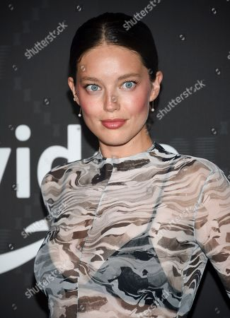 Emily Didonato. Emily Didonato attends the Spring/Summer 2020 Savage X Fenty show, presented by Amazon Prime, at the Barclays Center on Tuesday, Sept, 10, 2019, in New York
