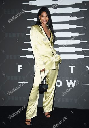 Stock Photo of Chanel Iman attends the Spring/Summer 2020 Savage X Fenty show, presented by Amazon Prime, at the Barclays Center on Tuesday, Sept, 10, 2019, in New York