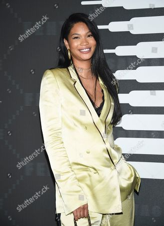 Chanel Iman attends the Spring/Summer 2020 Savage X Fenty show, presented by Amazon Prime, at the Barclays Center on Tuesday, Sept, 10, 2019, in New York
