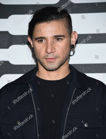 Stock Photo of Sonny Moore aka Skrillex attends the Spring/Summer 2020 Savage X Fenty show, presented by Amazon Prime, at the Barclays Center on Tuesday, Sept, 10, 2019, in New York