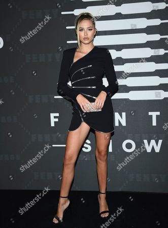 Delilah Belle Hamlin attends the Spring/Summer 2020 Savage X Fenty show, presented by Amazon Prime, at the Barclays Center on Tuesday, Sept, 10, 2019, in New York