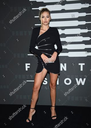 Stock Picture of Delilah Belle Hamlin attends the Spring/Summer 2020 Savage X Fenty show, presented by Amazon Prime, at the Barclays Center on Tuesday, Sept, 10, 2019, in New York