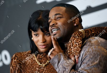 Renell Medrano, A$AP Ferg. Rapper A$AP Ferg, right, and girlfriend Renell Medrano attend the Spring/Summer 2020 Savage X Fenty show, presented by Amazon Prime, at the Barclays Center on Tuesday, Sept, 10, 2019, in New York