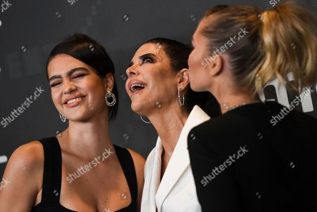 Amelia Hamlin, Lisa Rinna, Delilah Belle Hamlin. Amelia Hamlin, left, Lisa Rinna and Delilah Belle Hamlin attend the Spring/Summer 2020 Savage X Fenty show, presented by Amazon Prime, at the Barclays Center on Tuesday, Sept, 10, 2019, in New York