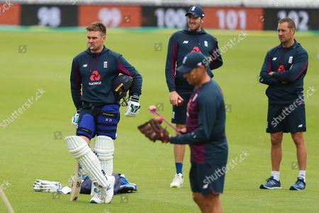 Editorial photo of England cricket, nets training session, Kia Oval, London, UK - 11 Sep 2019