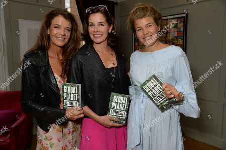 Annabel Croft, Darcey Bussell and Amber Nuttall