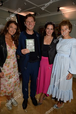 Annabel Croft, Angus Forbes, Darcey Bussell and Amber Nuttall