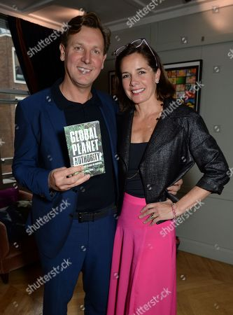 Angus Forbes and wife Darcey Bussell