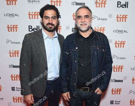 Stock Picture of Rodrigo Teixeira and Director Karim Ainouz