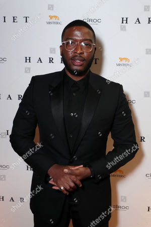 Zackary Momoh seen at the HARRIET World Premiere Party hosted by CIROC Vodka, during the Toronto International Film Festival, Toronto, September 10, 2019