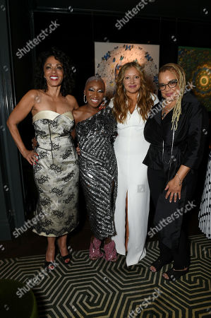 Debra Martin Chase, Producer, Cynthia Erivo, Daniela Taplin Lundberg, Producer, and Kasi Lemmons, Writer/Director