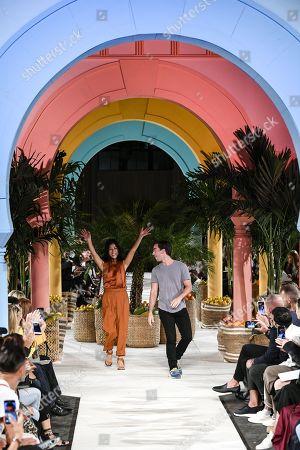 Editorial photo of Oscar de la Renta show, Runway, Spring Summer 2020, New York Fashion Week, USA - 10 Sep 2019