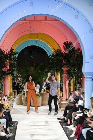 Editorial image of Oscar de la Renta show, Runway, Spring Summer 2020, New York Fashion Week, USA - 10 Sep 2019