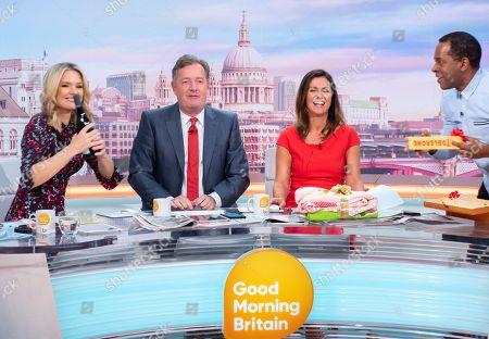 Charlotte Hawkins, Piers Morgan, Susanna Reid and Andi Peters