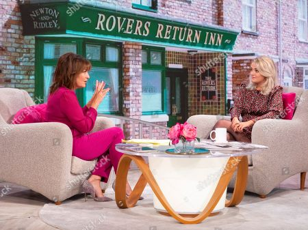 Lorraine Kelly and Lucy Fallon