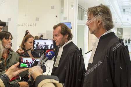Emmanuel Marsigny, lawyer for Tariq Ramadan and Olivier d'Antin, lawyer
