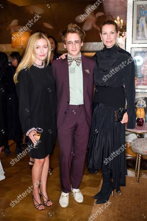 Emma Elwick-Bates, Luke Edward Hall and Pippa Vosper