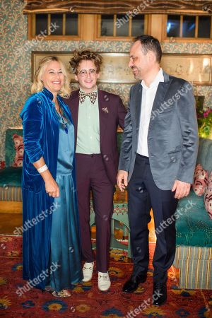 Editorial image of Richard Ginori x Luke Edward Hall Dinner, London, UK - 10 Sep 2019