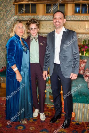 Stock Image of Annalisa Tani, Luke Edward Hall and Mehdi Benabadji