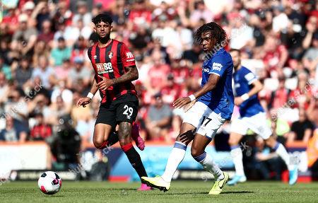 Alex Iwobi of Everton.