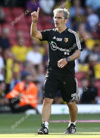 Watford's  coach Oscar Garcia