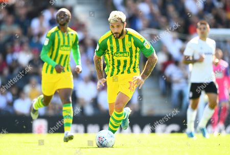 Charlie Austin of West Bromwich Albion
