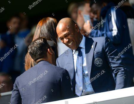 Les Ferdinand QPR Director of Football and Amit Bhatia QPR Chairman