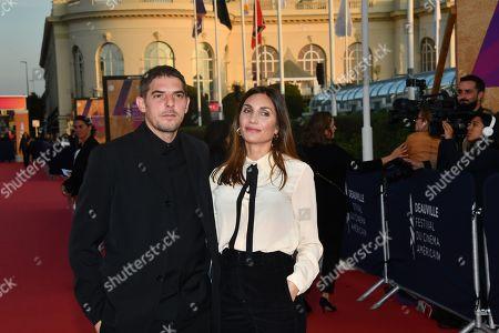 Damien Bonnard and Audrey Diwan