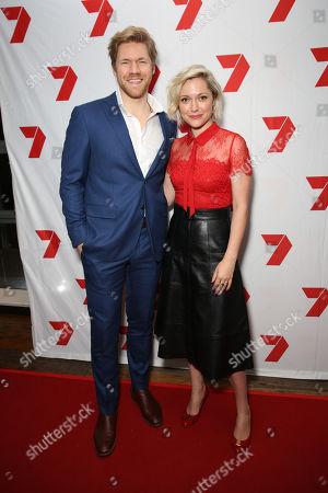 Alexander England and Georgina Haig