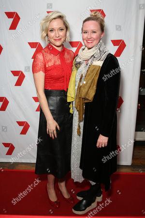 Stock Photo of Georgina Haig and guest