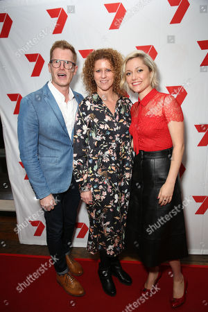 Stock Picture of Georgina Haig and guests