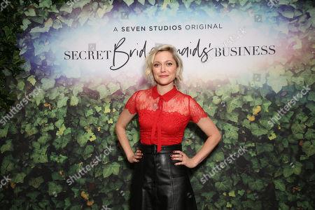 Editorial image of 'Secret Bridesmaids' Business' TV show premiere, Sydney, Australia - 11 Sep 2019