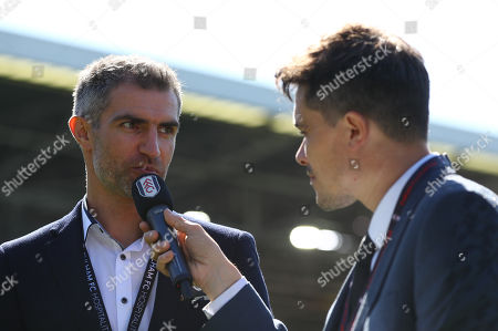 Aaron Hughes is inducted into Forever Fulham