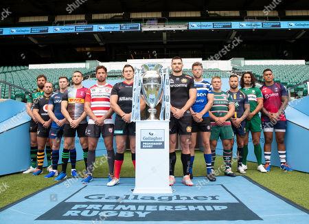 Editorial image of Gallagher Premiership Season Launch,  Rugby Union, Twickenham Stadium, London, UK - 11 Sep 2018