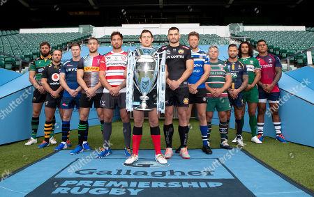 Editorial photo of Gallagher Premiership Season Launch,  Rugby Union, Twickenham Stadium, London, UK - 11 Sep 2018