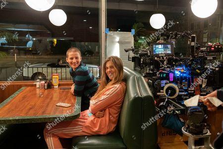Theo Germaine as James Sullivan and Laura Dreyfuss as McAfee Westbrook