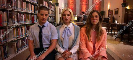 Theo Germaine as James Sullivan, Julia Schlaepfer as Alice Charles and Laura Dreyfuss as McAfee Westbrook